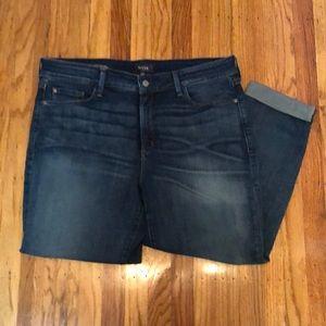NYDJ Jessica relaxed boyfriend jeans.  Size 16w.